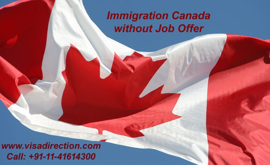 immigration canada without job offer
