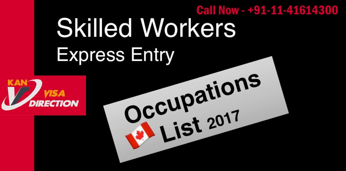 Immigration to Canada Skilled worker List