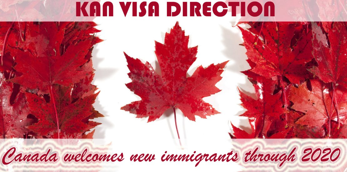 Canada welcomes new immigrants through 2020