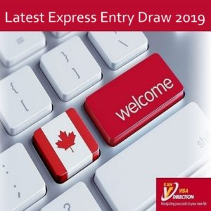 Latest Express Entry Draw 2019